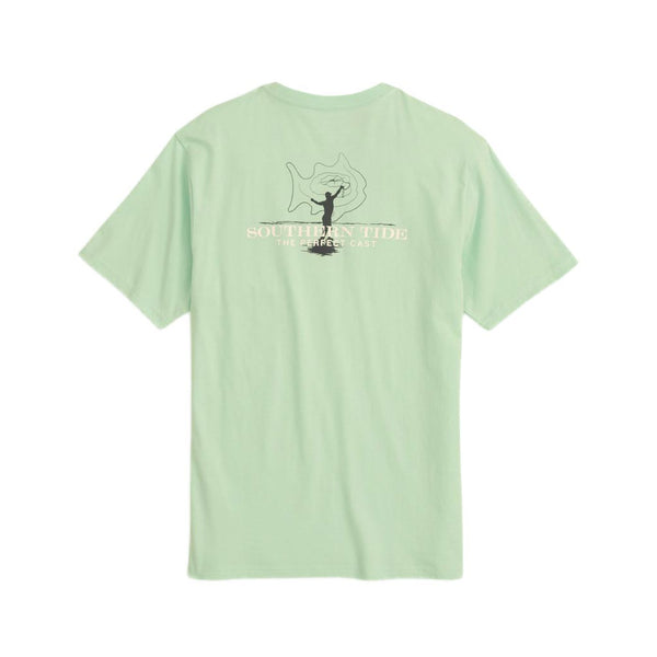 Perfect Cast Tee Shirt by Southern Tide