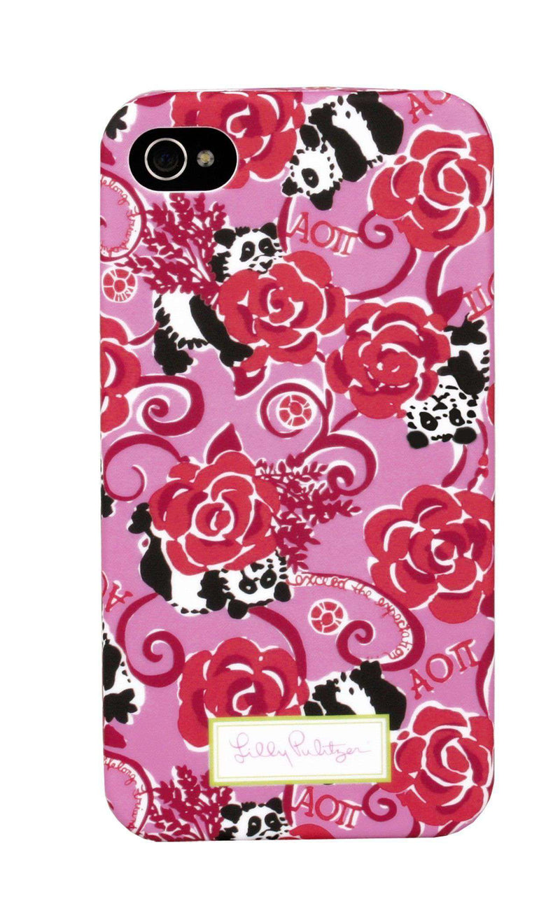 Phone/Computer - Alpha Omicron Pi IPhone 4/4s Cover By Lilly Pulitzer - FINAL SALE