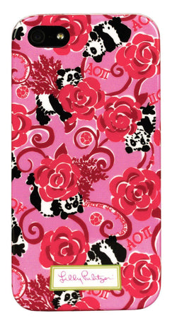 Phone/Computer - Alpha Omicron Pi IPhone 5/5s Cover By Lilly Pulitzer - FINAL SALE