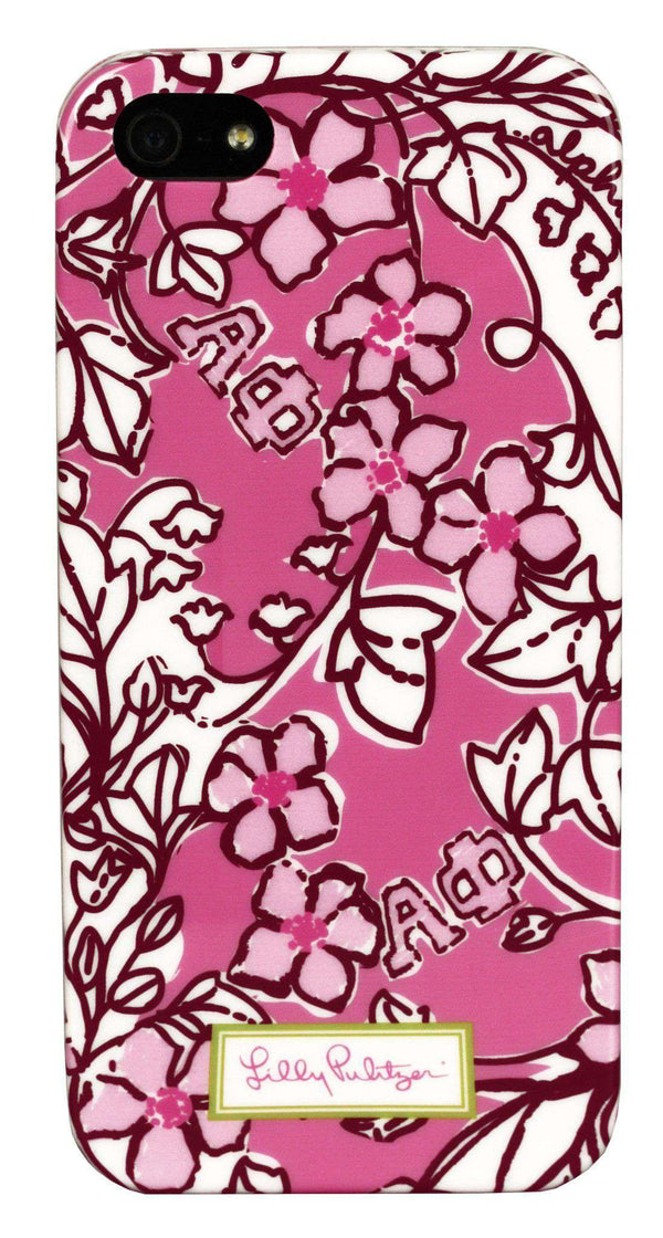 Phone/Computer - Alpha Phi IPhone 5/5s Cover By Lilly Pulitzer - FINAL SALE