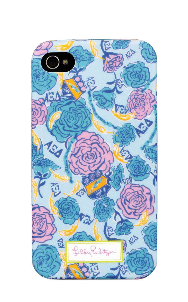 Phone/Computer - Alpha Xi Delta IPhone 4/4s Cover By Lilly Pulitzer - FINAL SALE