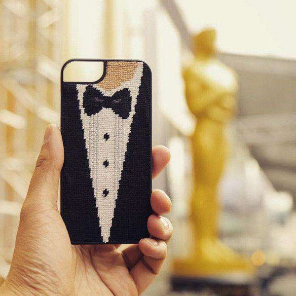 Phone/Computer - Black Tie Affair Needlepoint IPhone 6 Case By Smathers & Branson