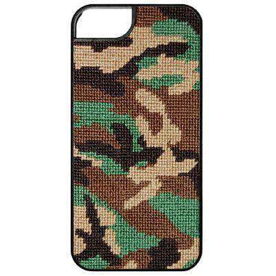 CAMO Needlepoint iPhone 6 Case by Smathers & Branson