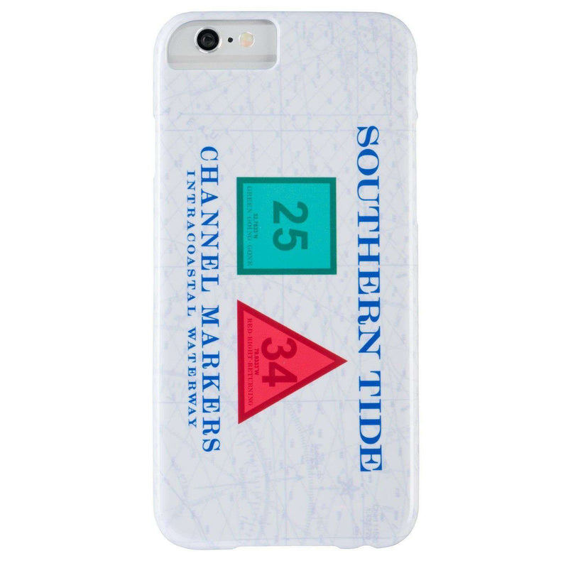 Phone/Computer - Channel Marker IPhone 6/6s Case In White By Southern Tide - FINAL SALE