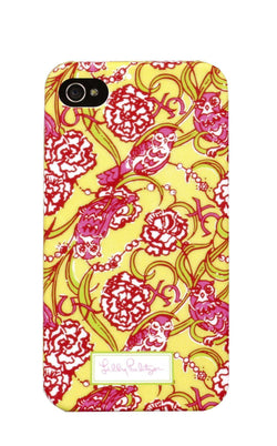 Phone/Computer - Chi Omega IPhone 4/4s Cover By Lilly Pulitzer