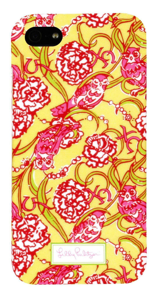 Phone/Computer - Chi Omega IPhone 5/5s Cover By Lilly Pulitzer - FINAL SALE