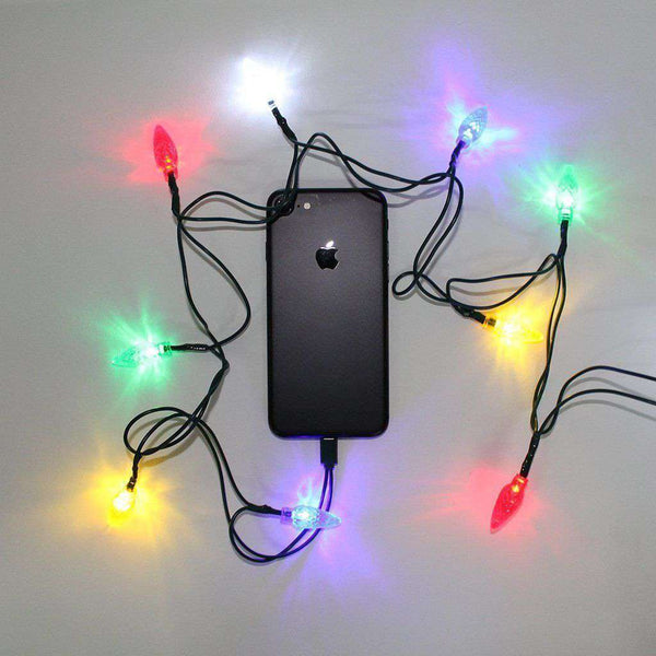 Christmas Lights iPhone Charger
