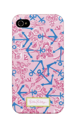 Phone/Computer - Delta Gamma IPhone 4/4s Cover By Lilly Pulitzer - FINAL SALE
