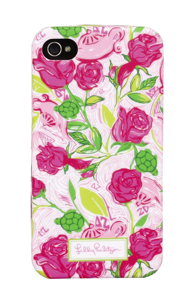Phone/Computer - Delta Zeta IPhone 4/4s Cover By Lilly Pulitzer