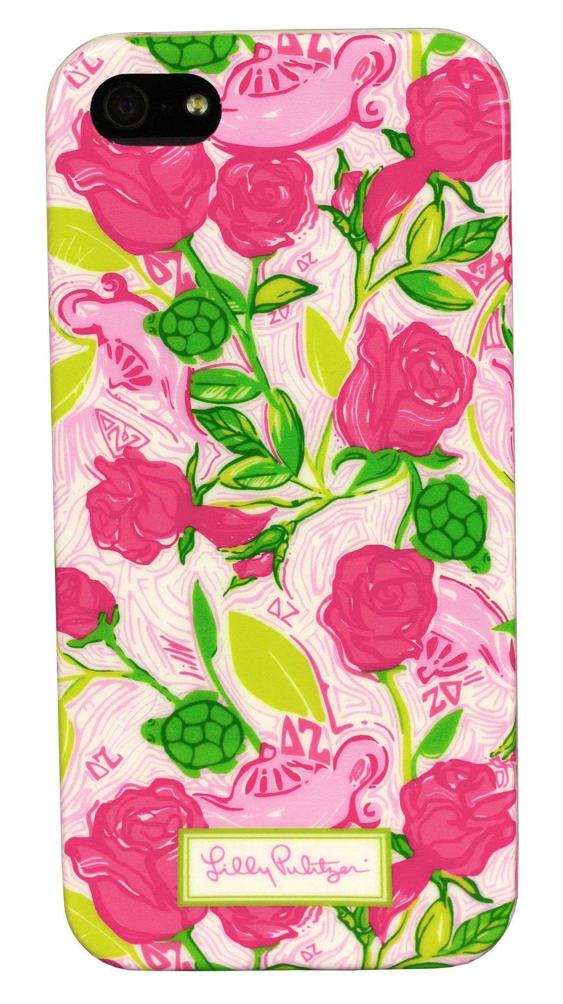 8be9a3d84316c7 Lilly Pulitzer Delta Zeta iPhone 5/5s Cover – Country Club Prep