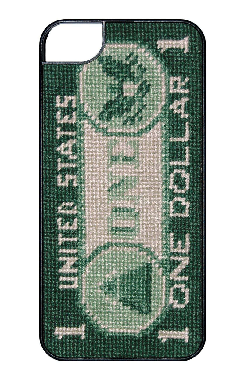 Phone/Computer - Dollar Bill Needlepoint IPhone 6 Case By Smathers & Branson