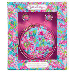Phone/Computer - Earbuds With Pouch In Trippin' And Sippin' By Lilly Pulitzer
