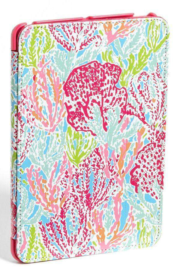 iPad Mini Case with Stand in Let's Cha Cha by Lilly Pulitzer