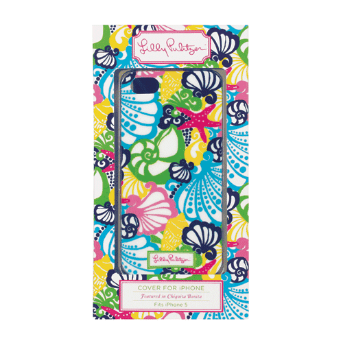 Phone/Computer - IPhone 5/5s Cover In Chiquita Bonita By Lilly Pulitzer