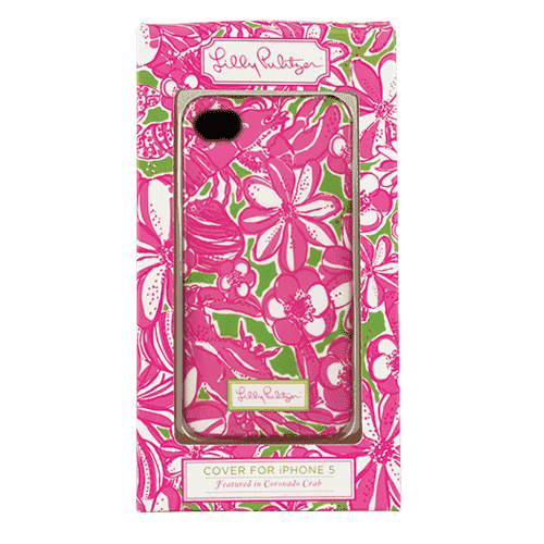 iPhone 5/5s Cover in Coronado Crab by Lilly Pulitzer