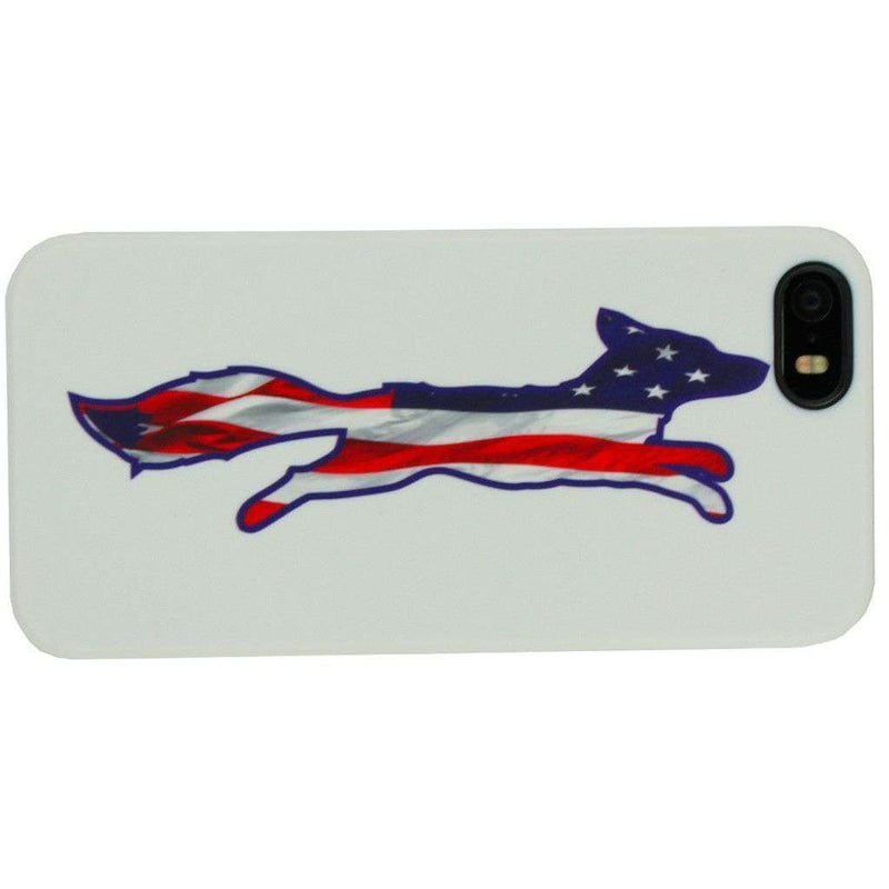 Phone/Computer - IPhone 5/5s Cover In Patriotic White By Country Club Prep - FINAL SALE