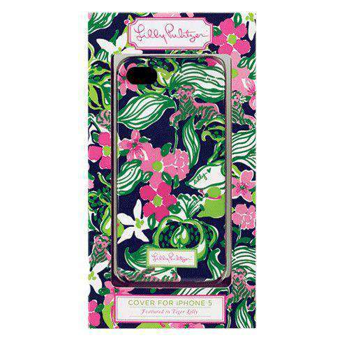 Phone/Computer - IPhone 5/5s Cover In Tiger Lilly By Lilly Pulitzer