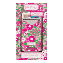 Phone/Computer - IPhone 5/5s Cover With Card Slots In Garden By The Sea By Lilly Pulitzer