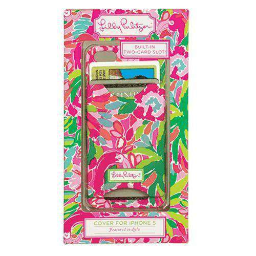 iPhone 5/5s Cover with Card Slots in Lulu by Lilly Pulitzer