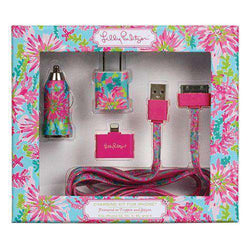 Phone/Computer - IPhone/iPod/iPad Charging Kit In Trippin' And Sippin' By Lilly Pulitzer