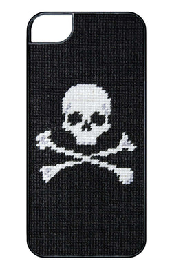 Phone/Computer - Jolly Roger Needlepoint IPhone 6 Case By Smathers & Branson