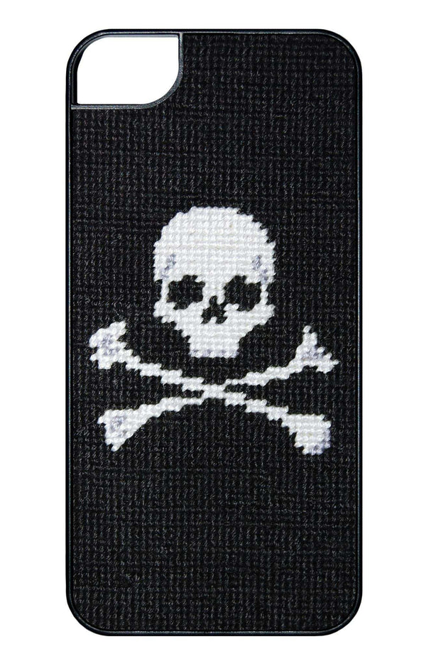 Jolly Roger Needlepoint iPhone 6 Case by Smathers & Branson
