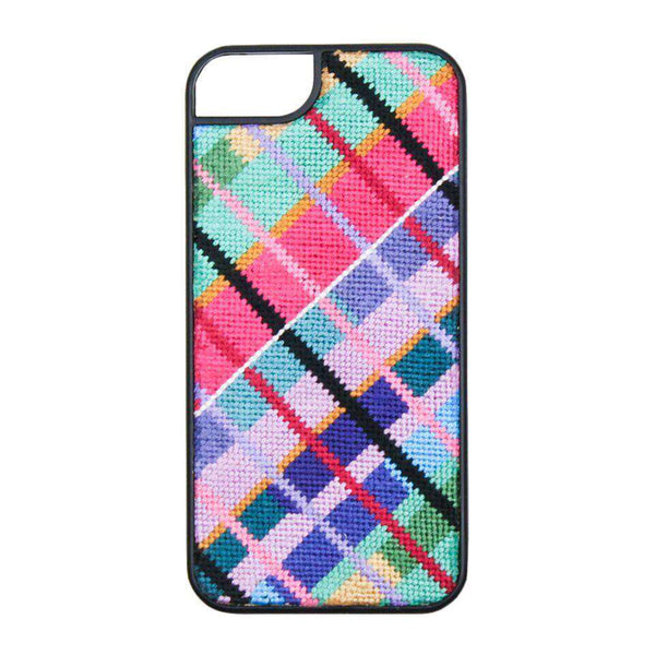 Phone/Computer - Limited Edition Madras Needlepoint IPhone 6 Case By Smathers & Branson