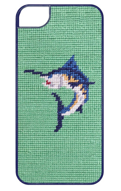 Phone/Computer - Marlin Needlepoint IPhone 6 Case By Smathers & Branson