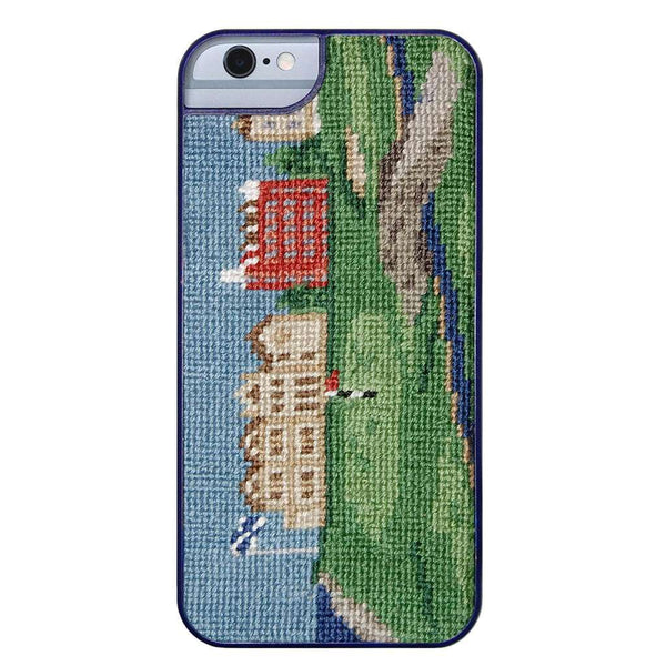 Old Course Needlepoint iPhone 6 Case by Smathers & Branson