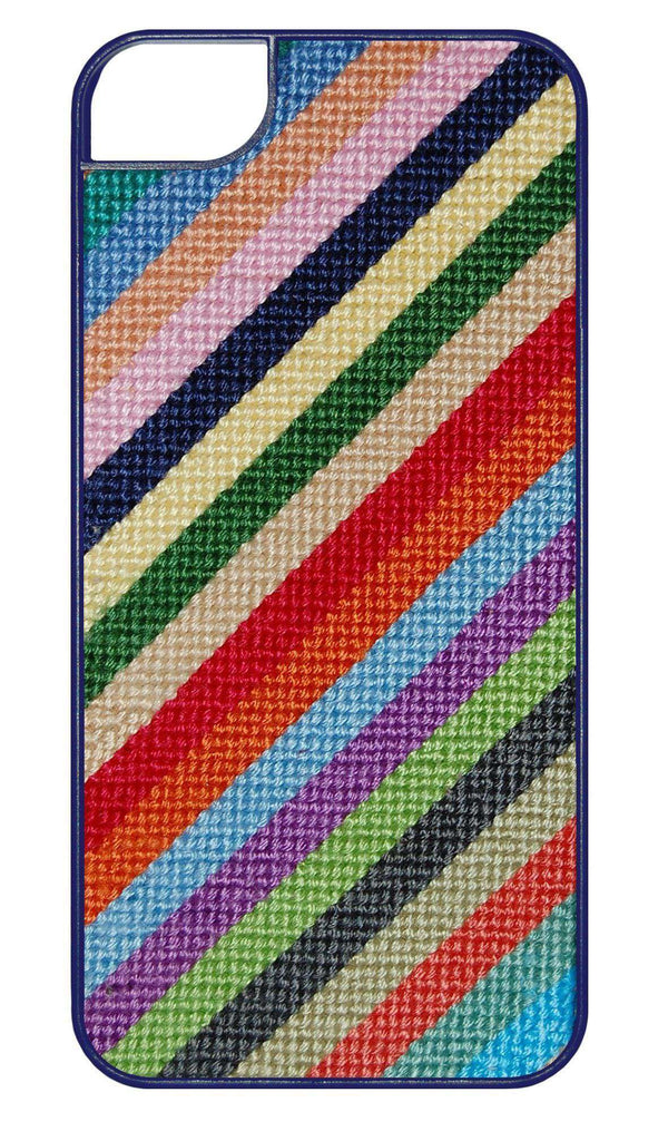 Phone/Computer - Parsons Stripe Needlepoint IPhone 6 Case By Smathers & Branson