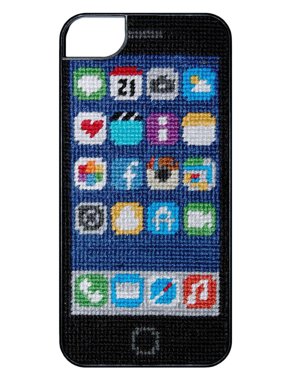 Screen Shot Needlepoint iPhone 6 Case by Smathers & Branson - FINAL SALE