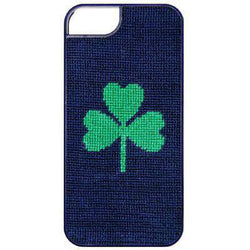 Shamrock Needlepoint iPhone 6 Case by Smathers & Branson