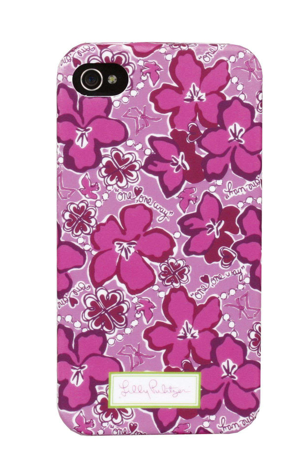 Phone/Computer - Sigma Kappa IPhone 4/4s Cover By Lilly Pulitzer - FINAL SALE