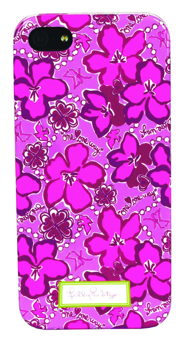 Phone/Computer - Sigma Kappa IPhone 5/5s Cover By Lilly Pulitzer - FINAL SALE