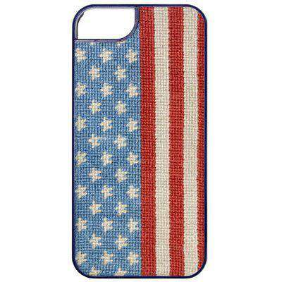 Phone/Computer - Stars And Stripes Needlepoint IPhone 6 Case By Smathers & Branson