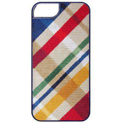 Traditional Madras Needlepoint iPhone 6 Case by Smathers & Branson