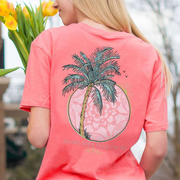 Lily Grace Palm Palms Tee by Lily Grace