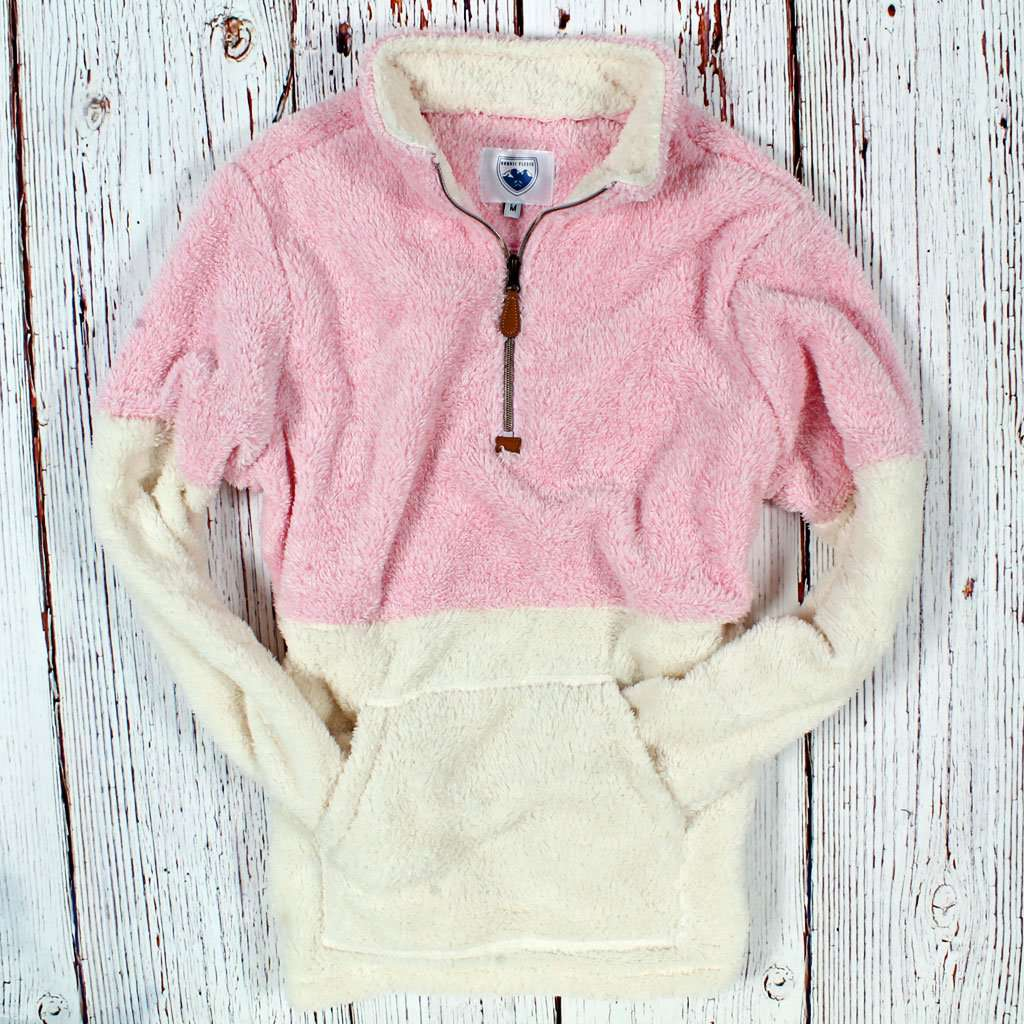 Two-Toned Kangaroo Pullover by Nordic Fleece