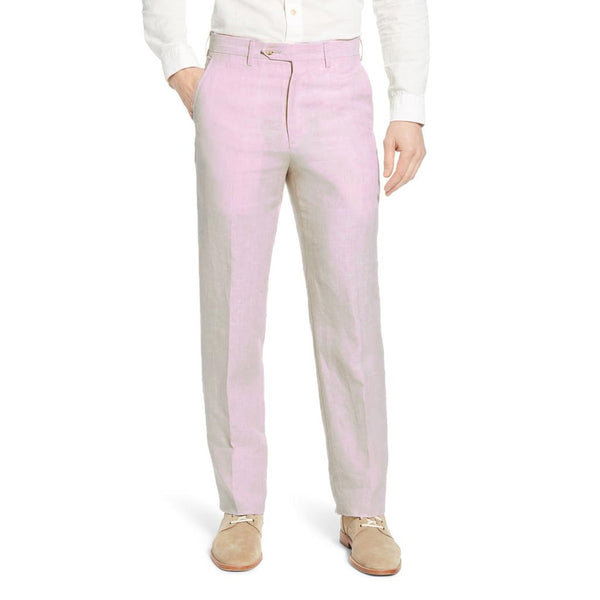 The Palm Beach Pink Linen Pant by Country Club Prep