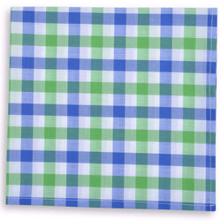 Pocket Squares - Battery Check Pocket Square In Green By High Cotton