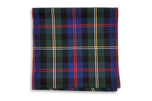 Gordon Plaid Pocket Square by High Cotton