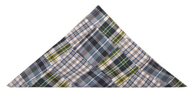 Pocket Squares - Madras Patchwork Pocket Square In Mackinac Island By Just Madras