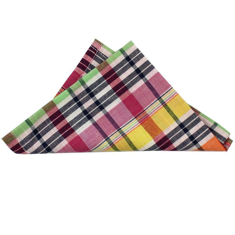 Pocket Squares - Madras Pocket Square In Sconset By Just Madras