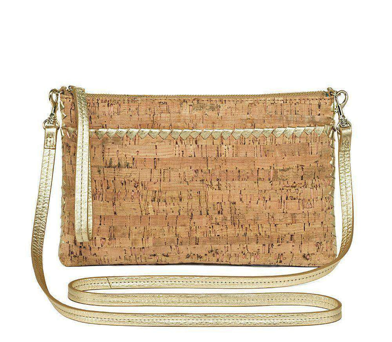Purses - Alaina Crossbody In Natural Cork And Gold By Jack Rogers