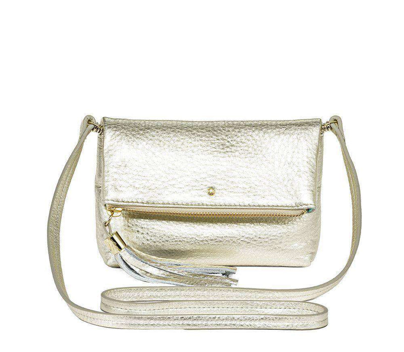 Purses - Gioia Mini Convertible Platinum Cross Body Bag By Jack Rogers