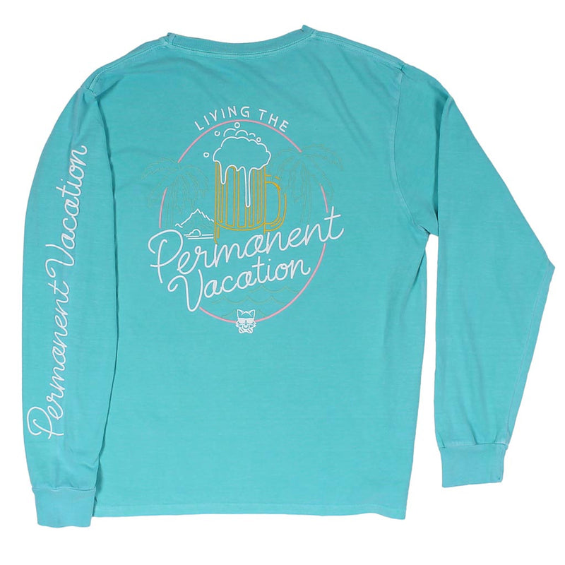 Neon Long Sleeve Tee Shirt by Party Pants