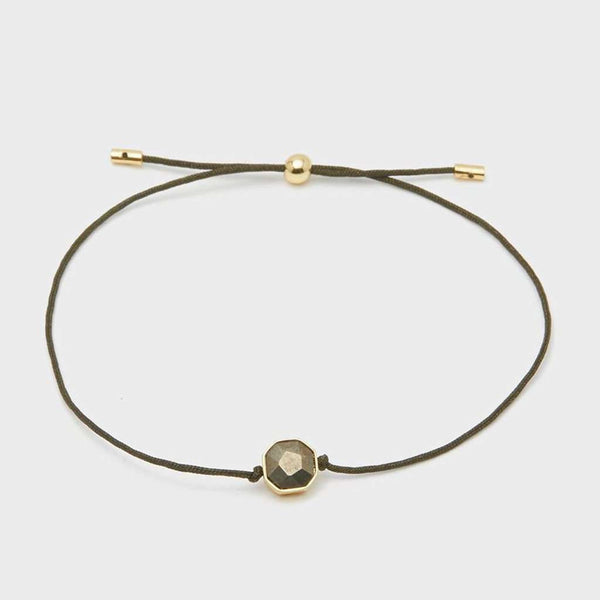 "Gorjana Power Gemstone Cord ""Strength"" Bracelet by Gorjana"