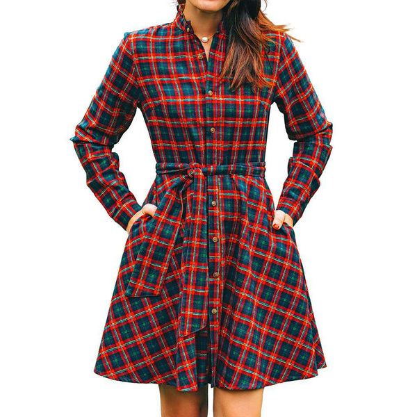 Kiel James Patrick Manchester Barn Cabin Dress by Kiel James Patrick