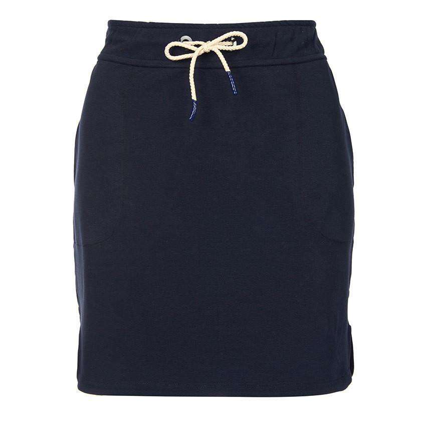 Renishaw Skirt in Navy by Barbour  - 1