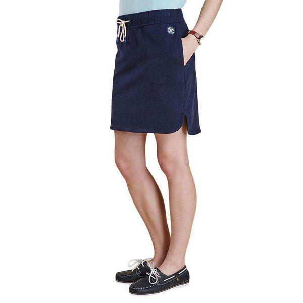 Renishaw Skirt in Navy by Barbour - FINAL SALE